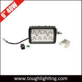6 Seiten-Montierungs-Licht des Zoll-40W quadratisches LED mit Schwenker-Halter