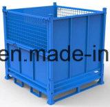 鋼鉄によって折られる金網ボックス容器