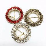 Le chapeau neuf de 2017 de cristal de pierres de courroie gaines d'accessoires chausse des boucles de courroie