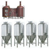 Kleine het Vullen van het Bier van de Fles van het Glas van de Capaciteit Automatische Machine/Lopende band