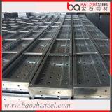 Steck en acier fait à l'usine pour l'échafaudage