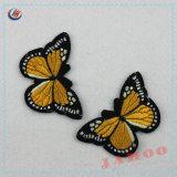 Zona d'abbigliamento ricamata del ricamo del contrassegno dei vestiti della farfalla del distintivo per il regalo