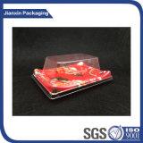 Impreso de flores de plástico desechable de grado superior de la caja con tapa Anti-Fog Sushi