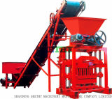 Qtj4-35b2 bloco de concreto de cimento sólido tornando preço do equipamento