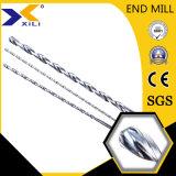 금속을%s HRC55 HRC60 3D 5D 탄화물 강선전도 드릴링 공구