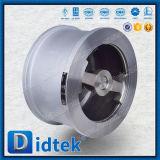 Válvula de verificación de la oblea de Wcb del fabricante de Didtek China