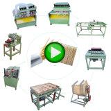 Produtos de bambu chinês palito palito fazendo a linha de produção