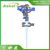 L'orbita del giardino equipaggia lo spruzzatore di annaffiatrici di irrigazione di agricoltura degli strumenti dell'azienda agricola