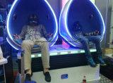 360 color del azul del mundo de la realidad virtual del simulador de Vr del huevo de los asientos 9d del grado 2