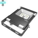 Luz de inundação preta 10W do diodo emissor de luz da microplaqueta IP65 de SMD 3030