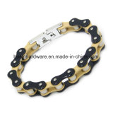 12mm Mens Stainless Steel Bicycle chain Bracelet