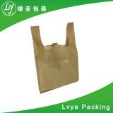 Fabricant OEM de la promotion d'épicerie réutilisables Eco Vest pliable Sac shopping PP non tissé