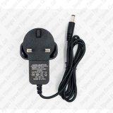 BRITISCHER Stromversorgungen-Adapter des Stecker-LED heller 12V 1A AC/DC für LED-Streifen