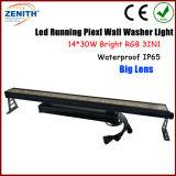 LEIDENE Waterdichte DMX 30W de Lichten van de Staaf van de 14 RGB 3in1 LEIDENE Wasmachine van de Muur voor Openlucht
