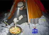 Ultralight携帯用小型屋外のキャンプストーブのガス・バーナーのブタンのプロパンのピクニックキャンプ装置のBackpackingガスこんろ