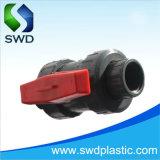 Unión PVC doble válvula de bola (DIN, ANSI, BS)