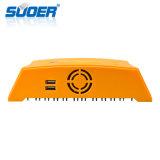 Suoer 12V 24V 10A 5V 1A Intelligent MPPT Solar USB Controlador de Carga (ST-H1210A)