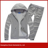 Constructeur d'usine d'usure de sports de Spandex de polyester de coton d'OEM de Guangzhou (T43)