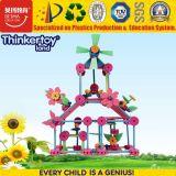 Brinquedos educacionais plásticos do enigma de DIY para crianças