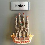 Aimant et trousseau de clés féeriques de réfrigérateur de métier de Polyresin de figurine de danse