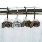목욕탕 샤워 커튼 훈장 달팽이 디자인 샤워 훅