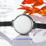 OEM het Horloge van Dame Quartz Wist van de Legering van het Netwerk Riem, de Horloges van Dames (wy-17026A)