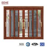 De thermische Schuifdeuren van het Glas van het Bewijs van de Lucht van de Deuren van het Aluminium van de Onderbreking Externe