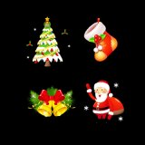 Het waterdichte LEIDENE van de Sneeuwvlok van de Sneeuw van Kerstmis OpenluchtLicht van de Projector voor de Werf van de Tuin