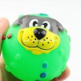 Pelota de tenis de goma barata del perro de la fuente del perro de juguete del animal doméstico