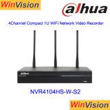 Сетевой видеорегистратор4104HS-W-S2 Dahau Wireless WiFi цифровой видеорегистратор сетевому видеорегистратору
