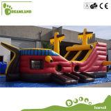 Melhor preço interessante Comercial Bouncer barco inflável para crianças