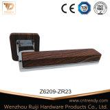Maniglia di leva in lega di zinco nera del portello del Matt del hardware della mobilia (Z6336-ZR03)