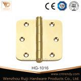 ロックしなさいハードウェアによって修復されるPinのバット真鍮のドアヒンジ(HG-1011)を