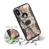 형식 벨트 클립 잡종은 iPhone 10 의 셀룰라 전화 상자 덮개를 위한 이동 전화 상자를 주문을 받아서 만들었다