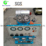 35MPa de Compressor van het Diafragma van de Luchtkoeling van het Biogas van de hoge druk