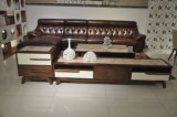 Condizione di legno superiore del marmo TV di stile di modo (DS-2038)