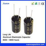 6.3V de Elektrolytische Condensator 8000hours van het Aluminium 2200UF