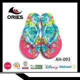 花の靴のための多様なカラーのPEの卸し売りスリッパ
