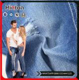 Azzurro di indaco tessuto del tessuto del denim del cotone