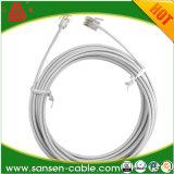 50 accoppiamenti del cavo telefonico Cat3 del cavo di comunicazione