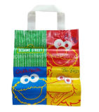Weiche Schleifen-Griff-Plastikträger-Einkaufstasche-Plastikgriff-Mehrzwecktasche