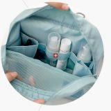 人の大きい容量のFoldable旅行平野の洗面用品袋