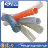 Гибкая труба шланга спирали всасывания воды PVC разрядки