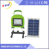 Luz de inundación portable del LED, luz de inundación del LED recargable