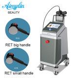 Derretir la grasa corporal drenaje linfático dispositivo RF/ la terapia de onda Ret
