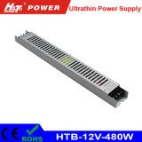 alimentazione elettrica di commutazione di 480W 40A 12V per il segno ultrasottile di Lightbox