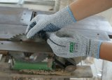 Nitrile Dots (세륨 커트 수준 5)를 가진 Resistant 반대로 Slip Knitted Work Gloves를 자르십시오