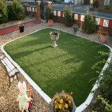 Decoração de jardim paisagismo em relva artificial