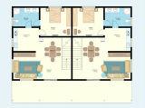 Dos suelos rápidos ensamblan la casa prefabricada