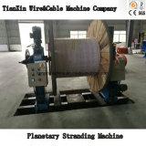 Tipo máquina de la jaula de encalladura planetaria del cable de alambre con torcer posterior